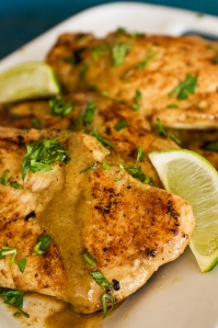 Lime and Coconut Chicken from Chaos in the Kitchen