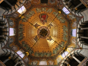 Ceiling of Aachen Cathedral